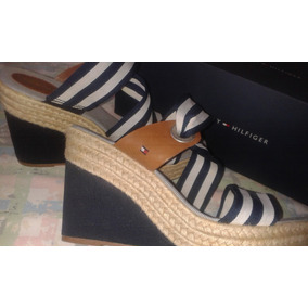 Plataforma Tommy Damas Mujer Sandalias Zapatos redBxoC