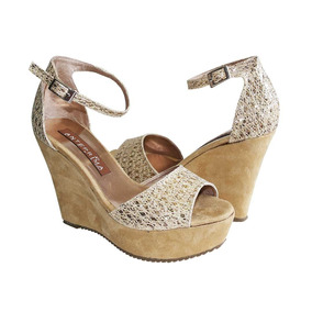Plataforma Zapatos Sandalias En De Rosa Mujer Mercado UqLpSzMVG