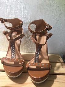 Mujer Zapatos Stradivarius Plataformas Sandalias dCWroBex