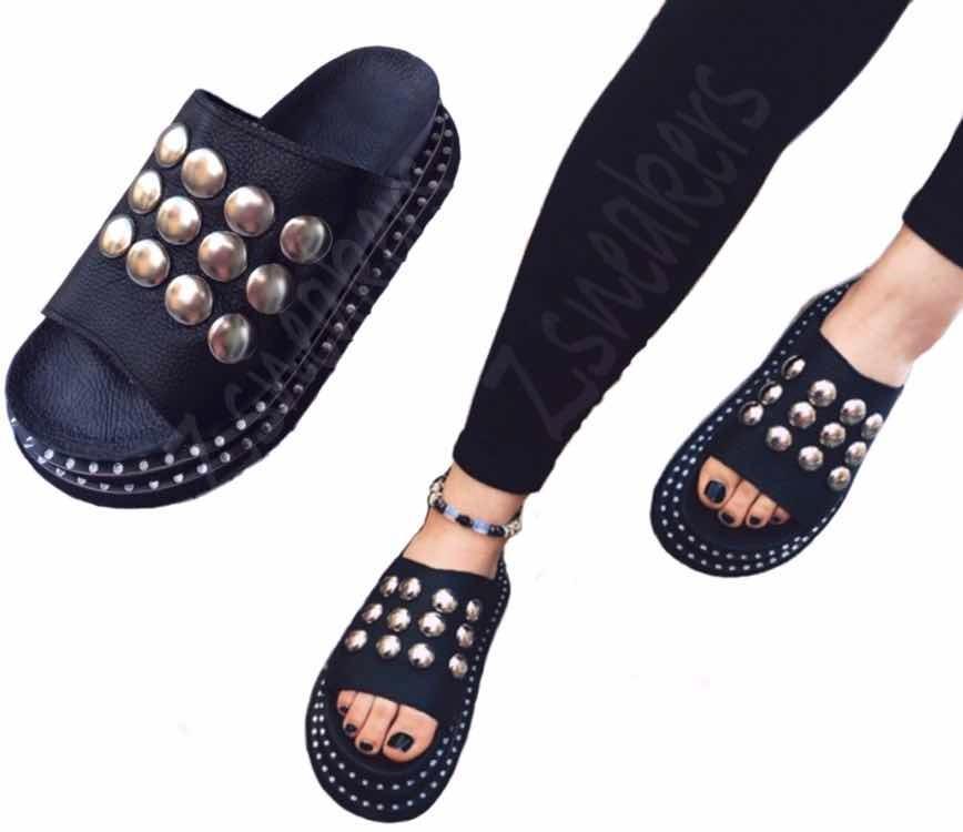 Sandalias Tachas Zapatos 2019 990 Mujer Verano Primavera 2018 CSqpx8