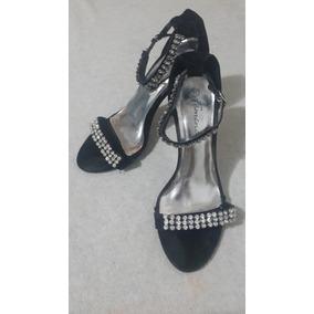 1848c0a9 Tacones Con Plataforma Plateados - Zapatos Mujer en Mercado Libre ...