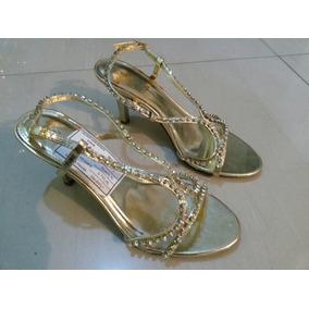 Tacón Táchira Alto En Zapatos Dorados De Mercado Libre mnvwO8N0