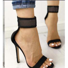 Fina Mercado Zapatos Mujer Con Sandalias En Punta Tacon PiOkuTZwX