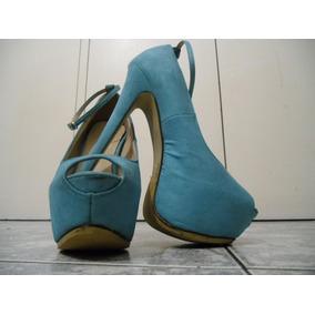 Venezuela Zapatos Turquesa En Libre Tacones Mercado Altos 08knwPO