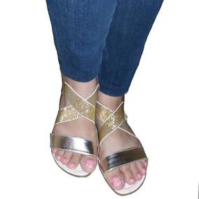 8611aeed72f Sandalias Doradas Bajitas - Zapatos Mujer Sandalias en Yaracuy en ...