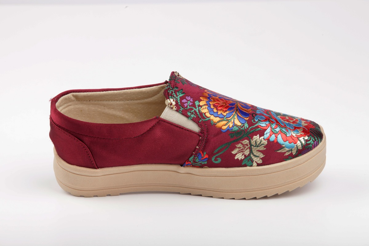 Cómodos Bordada Piel Y Moda Zapatos Mujer Cargando Zoom Tela qx4XwnOanR 8db5046ec26c