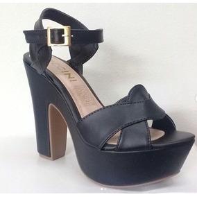 6fb188612dfbe Tacones Negros Talla 35 - Zapatos Mujer en Mercado Libre Venezuela