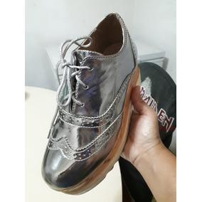 46e6e51836aa6 Zapatos Tipo Oxford Dama - Zapatos en Mercado Libre Venezuela
