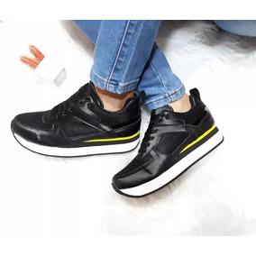 192add47a4d Zapatos De Dama Doble Piso Suela Alta Colombianos