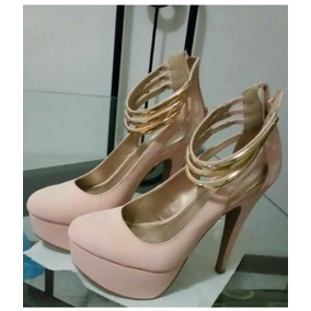 3a905b01 Oferta Elegantes Zapatos Beige Dama - Zapatos en Mercado Libre Venezuela