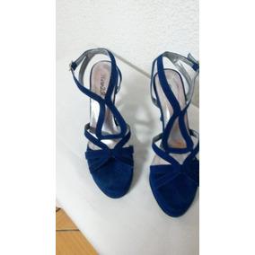 7534d4e035561 Sandalias Azules Altas - Zapatos Mujer en Mercado Libre Venezuela