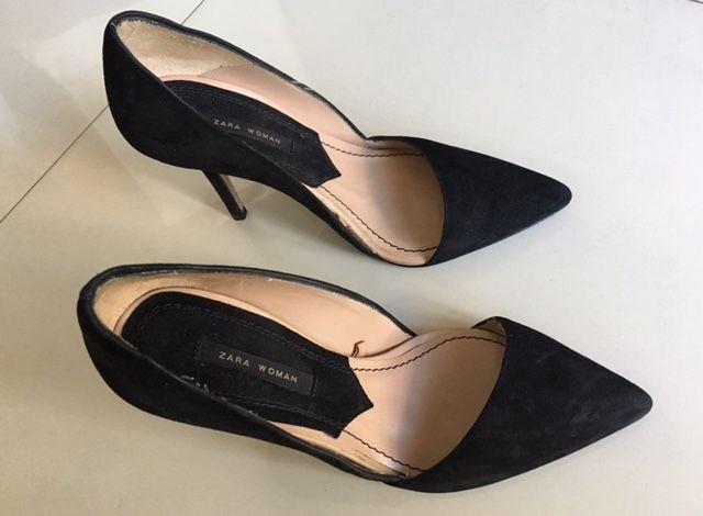 ce9e22f8a84f4 zapatos mujer zara negros talle 38 stilettos · zapatos mujer zara