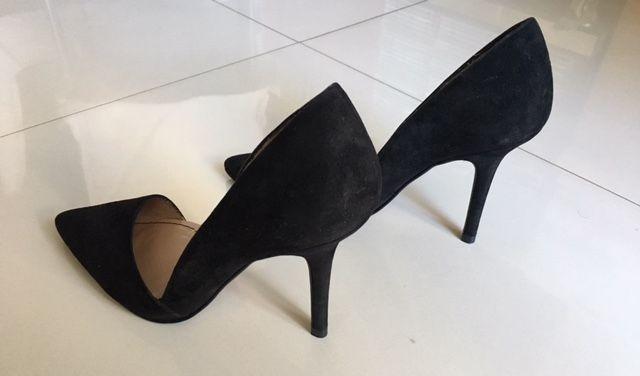88d862a12a5d1 Zapatos Mujer Zara Negros Talle 38 Stilettos -   2.300