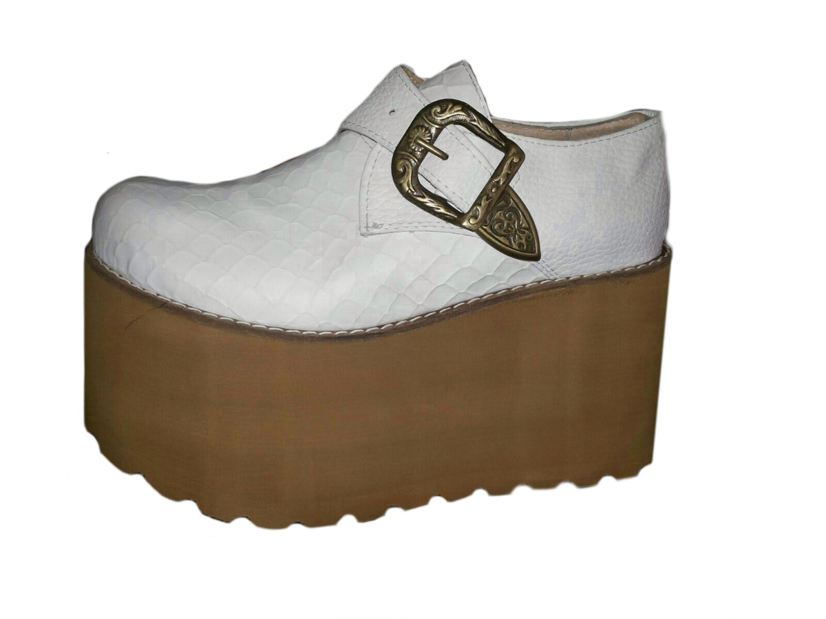 bc393970 Zapatos Plataforma Mujer - Zueco Alto Moda - Araquina - $ 999,98 en ...