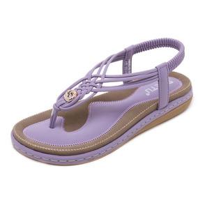 Zapatos Sandalias Verano Ocio Playa Mujeres Casual vgb67Yyf
