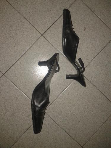 zapatos nº 38/39 color negro. muy buenos!!!!
