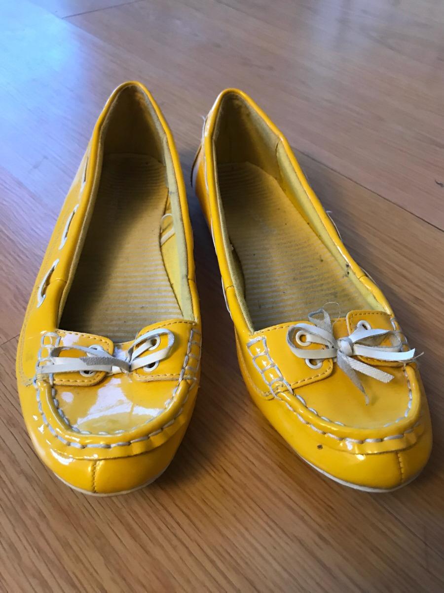 Cargando zapatos zoom náuticos amarillo charol wxqnB187