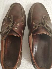 Zapatos Nauticos Clarks, Usados. Talle 8. Impecable. Marrón