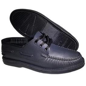 sitio de buena reputación 37b77 ce0d6 Zapatos Nauticos Con Cordones Vestir Traje Colegio Fiesta
