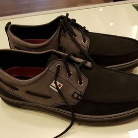 De Zapatos Boris Negro Cuero Náuticos Pataugas BerodCxQW