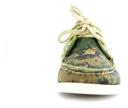 zapatos nauticos mocasines peskdores camo pc00031