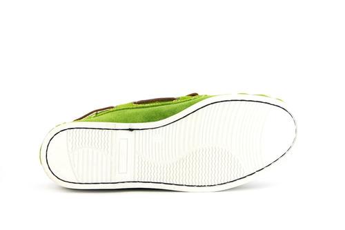 zapatos nauticos mocasines peskdores green g0006