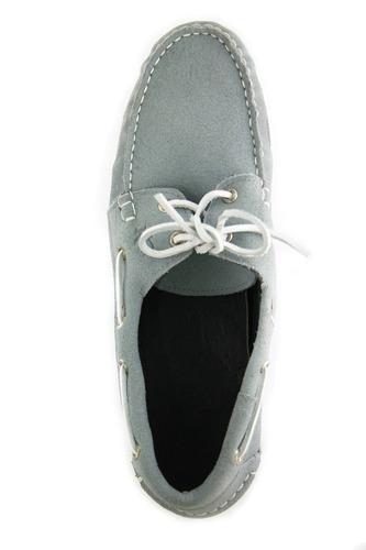 zapatos nauticos mocasines peskdores gris gr00026