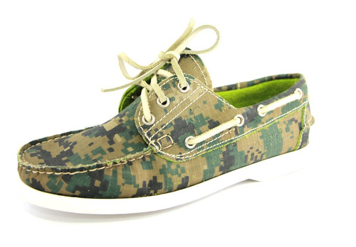 zapatos nauticos mocasines peskdores pixel camo pc00031