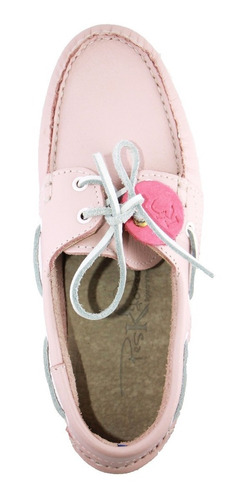 zapatos nauticos mocasines peskdores rose ro00037