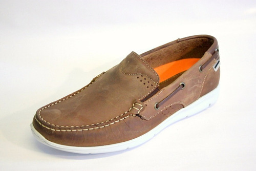 zapatos nauticos pataugas de nobuck  nicanor marrón