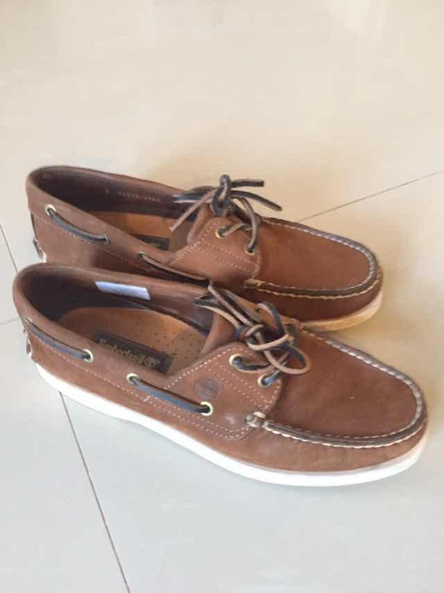 500 1 Talle 42 Zapatos Cuero Timberland Impecables Náuticos Awq70PYa