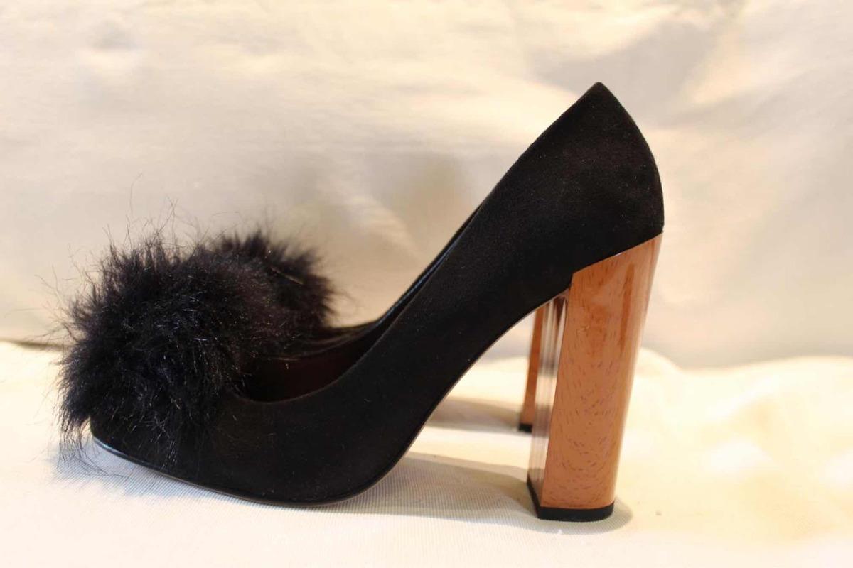 40 Libre Mercado Negros Zapatos Con W1rqgxfuy En 00 800 IqrIgE Zara Pompón SEUq4z