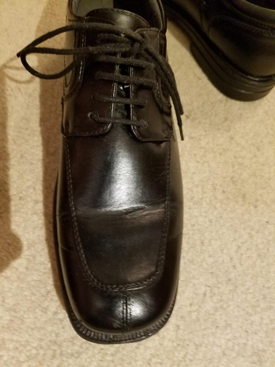 dea6bd7f zapatos negros de caballero, trenzas. suela de goma talla 11. Cargando zoom.