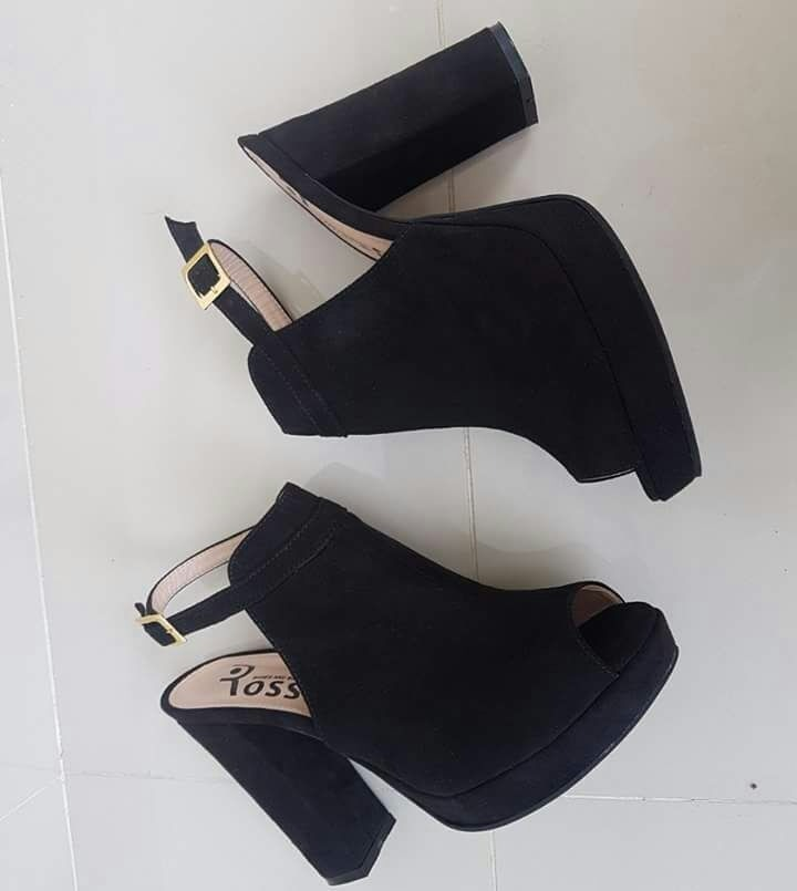 Tacon Estilo Negros Con Dama Para Zapatos Moda De Mujeres erxoCdBW