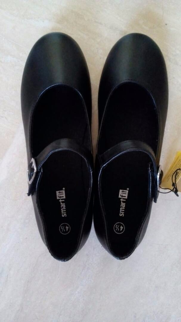 63ac3250cf1 Zapatos Negros Escolares Para Niña Talla 36 (usa 4