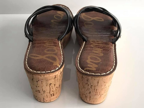 zapatos negros importados marca cuero natural