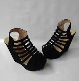 Zapatos Negros c Tacon Corrido Bogotá En D Plataforma 4AqRjL35