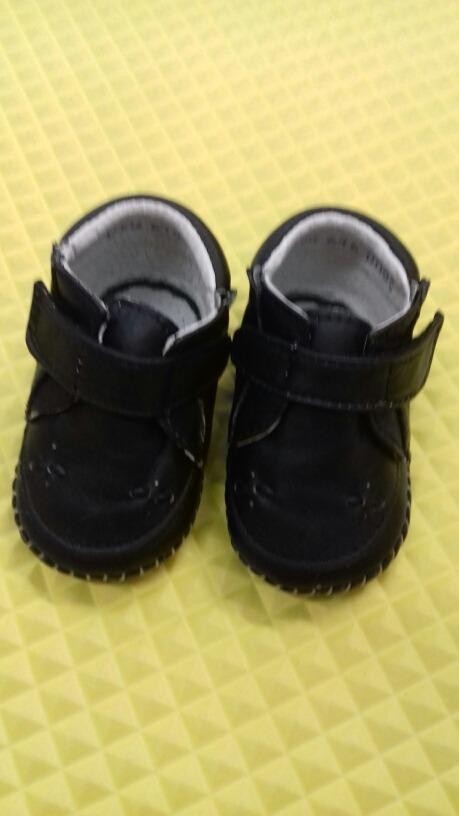 aa45f031f7a Zapatos Negros Para Bebé Niño 9.5 De Piel -   245.00 en Mercado Libre