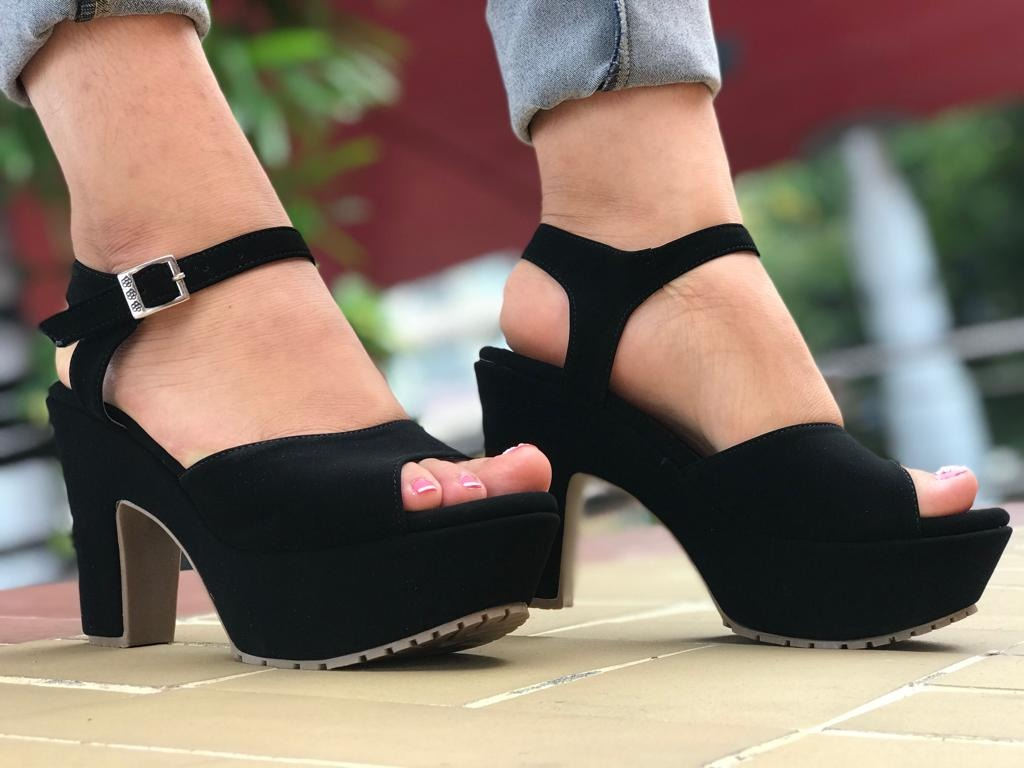 Zapatos 00 En Negros Taco Sandalias Mercado 60 S Libre U Qspzuvm fb6gyvY7