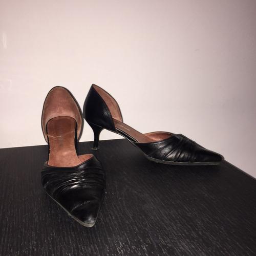 zapatos negros usados - oportunidad!