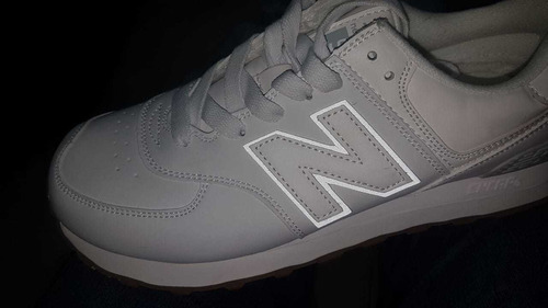 zapatos new balance blanco
