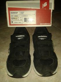 abrelatas Racionalización envidia  Zapatos Booty Hombre - Zapatos New Balance de Niños Negro en Distrito  Capital, Usado en Mercado Libre Venezuela