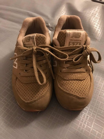 zapatos new balance marrones