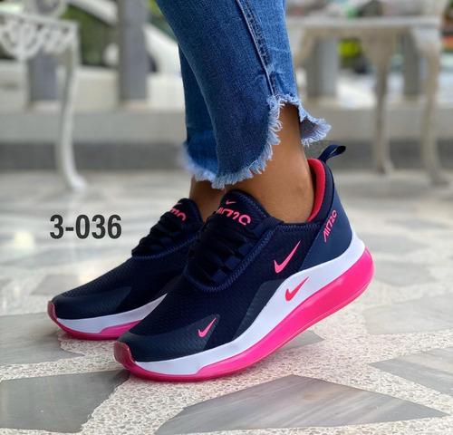 zapatos nike 720 dama deportivos moda colombiana gym