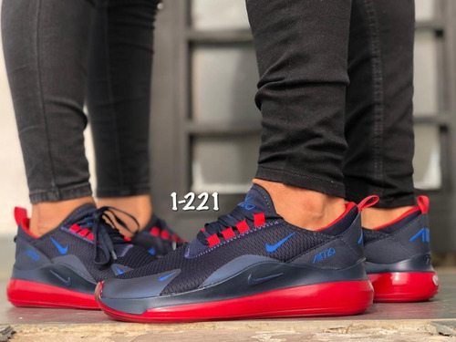zapatos nike 720 rojo caballero deportivos colombianos gym