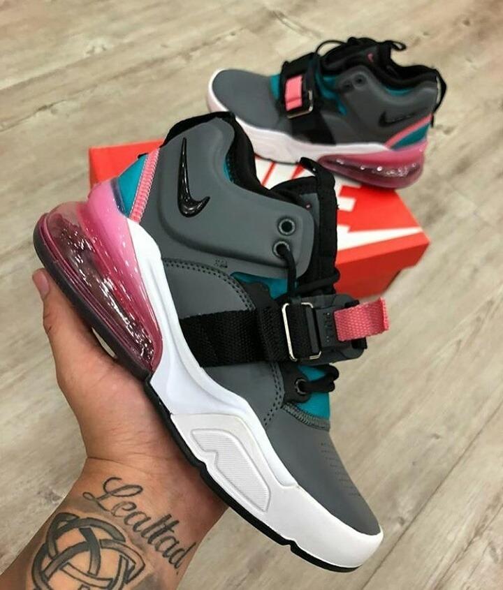 Zapatos Nike Air Force 270 Originales Para Damas