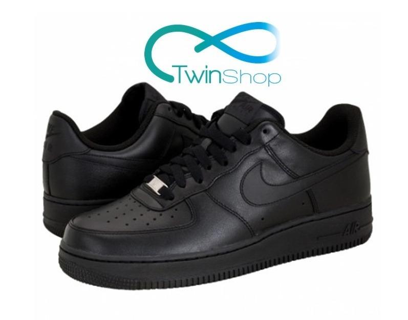 newest cf732 81604 zapatos nike air force one af1 negros altos importados