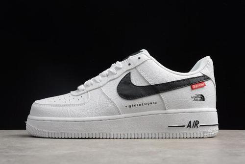 *\zapatos nike air force one af1 x supreme blanco/*