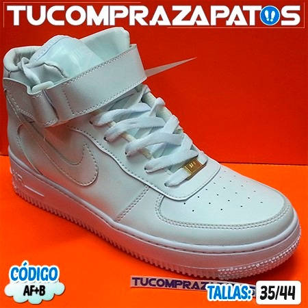 Zapatos Nike Air Force One Botas Para Damas Y Caballeros 27 80