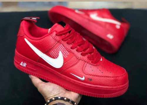 *~*zapatos nike air force one rojos *~*